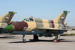 МиГ-21 ВВС Йемена