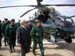 Ми-35М Государственной пограничной службы Азербайджана
