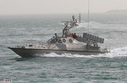 Ракетный катер ВМФ Ирана
