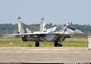 МиГ-29 ВС Украины. фото: Maksym Dragunov