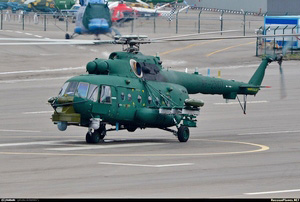 Ми-8 авиации ФСБ