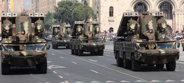 ЗРК Оса-АКМ Армении
