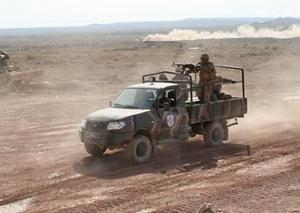 UAZ Cargo ВС Армении