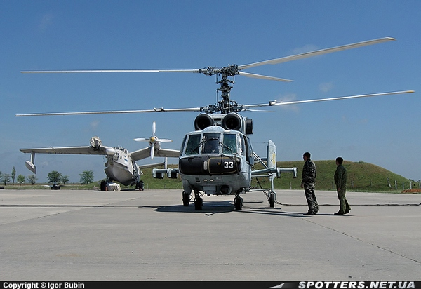 Ка-29 ВМС Украины фото:Igor Bubin