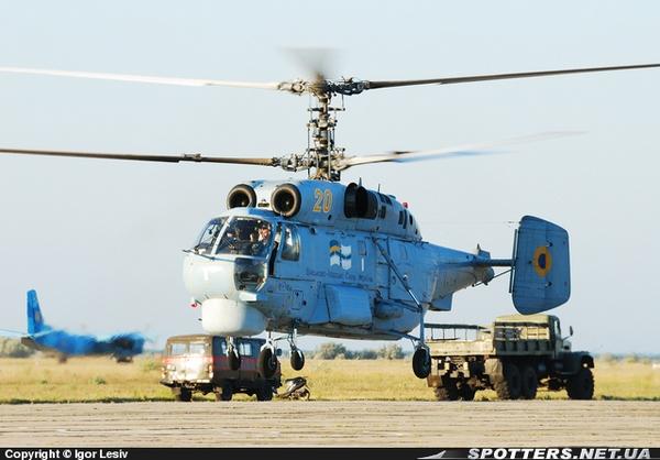 Ка-27ПЛ ВМС Украины фото:Igor Lesiv