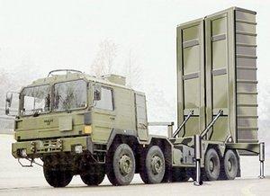Предполагаемый вид пусковой установки ракет SOM