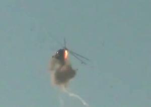 Сбитый Ми-8 возле Дамаска