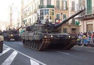 Leopard-2A4 СВ Испании