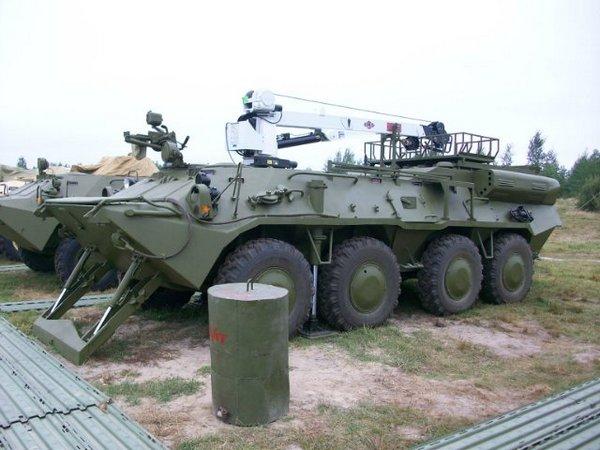 Ремонтно-эвакуационная машина БТР-3БР