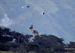 Падение самолета К-8 ВВС Венесуэлы