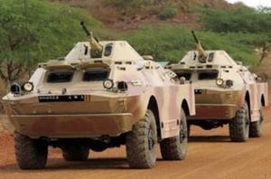 БРДМ-2 ВС Мали
