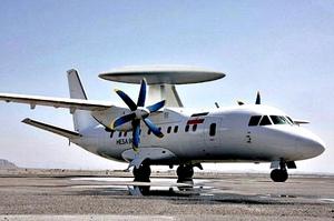 Предпологаемый вид самолета IrAn-140 AEW