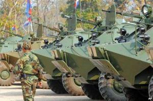 Партия военной техники для армии Камбоджи