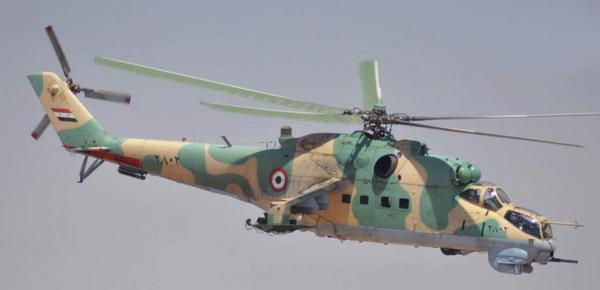 Ми-25 ВВС Сирии