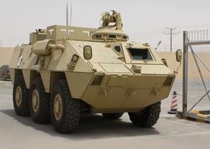 BMR-600 морпехов Саудовской Аравии