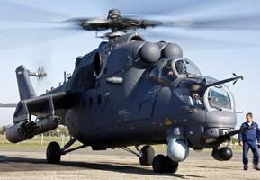 Ми-35 ВВС РФ