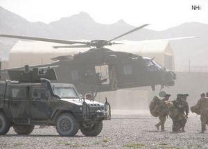 Итальянские NH90 в Афганистане