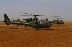 Вертолеты Газель
