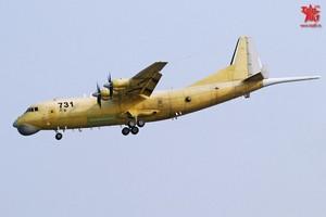 прототип китайского базового патрульного самолета Y-8GX6