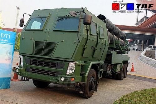 РСЗО DTI-1 (c) TAF