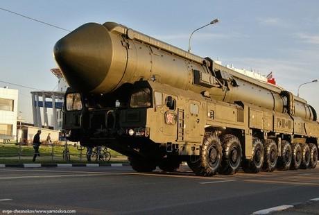Ракетный комплекс Тополь-М (c) Евгений Чесноков