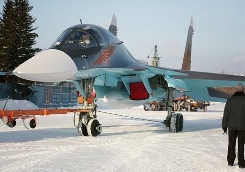 Су-34  ВВС России  (c) Майя Шелковникова / РИА Новости