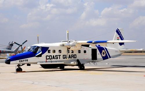 Патрульный самолет Do-228 (c)фото Ильи Кедрова журнал Национальная оборона