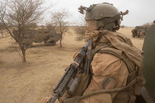 Французский контингент в Мали
