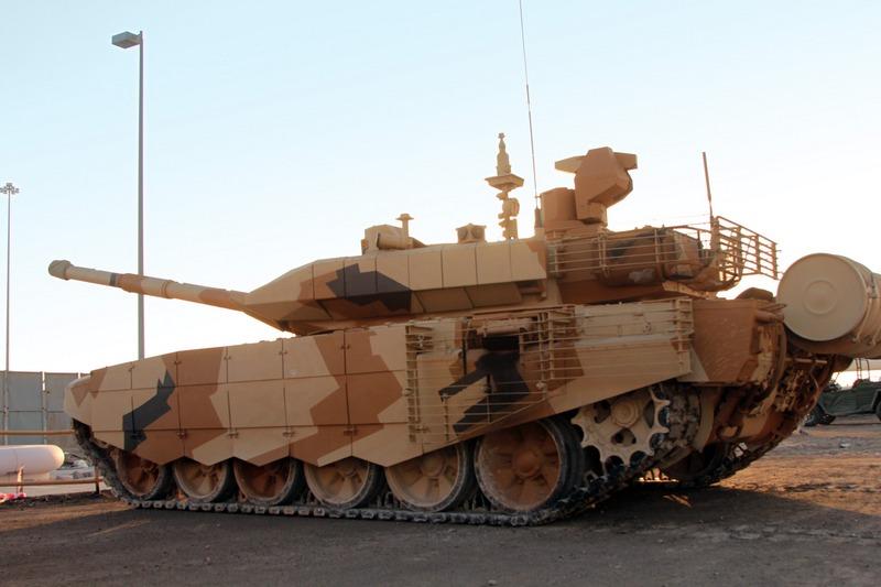 Модернизированный Т-90С (c) Фото пресс-центр УВЗ