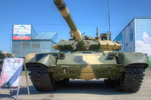 Т-72М1М  экспортная модернизация танка
