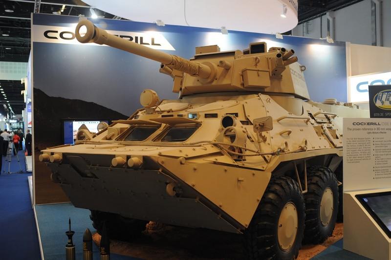 БТР-3 с модулем Cockerill