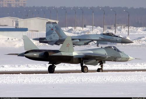 ПАК-ФА и Су-35С