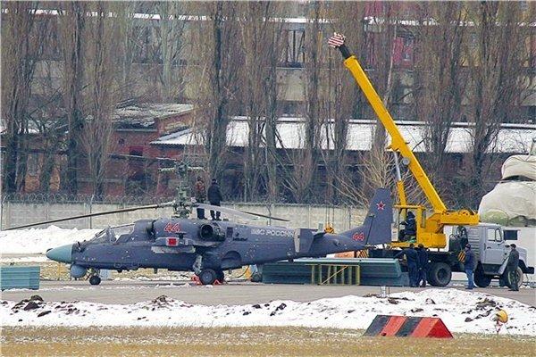 Ка-52 собранный на ОАО Роствертол