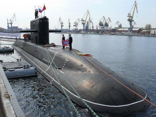Подводная лодка Санкт-Петербург проекта 677
