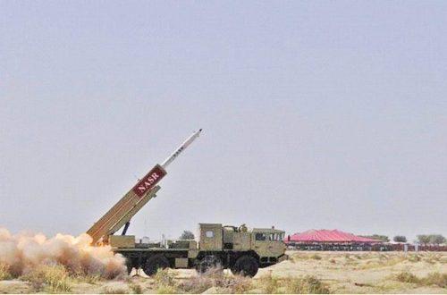 Hatf-9 ракета класса поверхность-поверхность