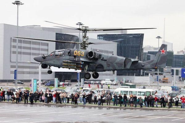 Вертолет Ка-52 (c) helicopter.su