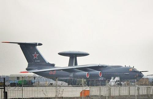 Модернизированный самолет А-50У  (c) Berkut forum.keypublishing.com