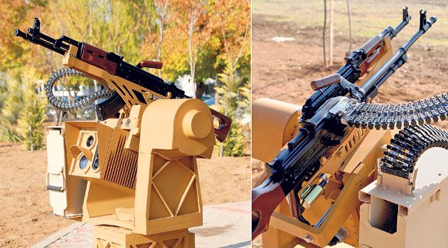 стрелковое оружие с дистанционным управлением