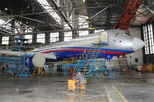 Ту-214ОН (Открытое небо) (c) Марат Хусаинов / пресс-служба правительства Республики Татарстан