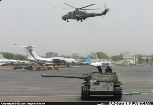 Ми-24П ВВС Судана (c) Eduard Onyshchenko spotters.net.ua