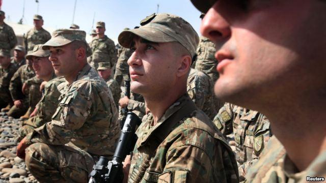 Военнослужащие ВС Грузии в Афгаистане (c) unhcr.org