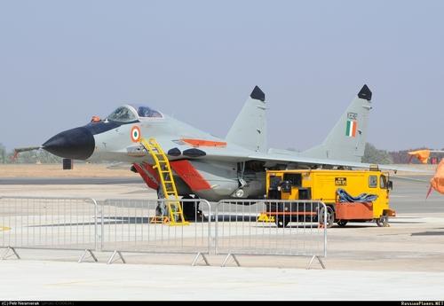 МиГ-29Б ВВС Индии  (c) Pene russianplanes.net