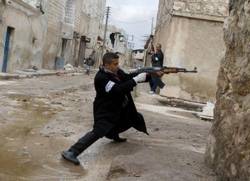 Сирийские боевики (c) AFP/Getty