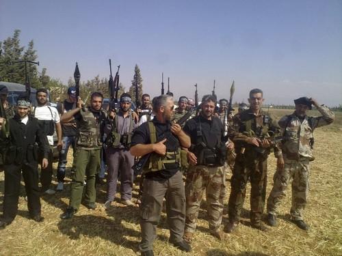 Члены армии свободной Сирии  Al Fresan бригад