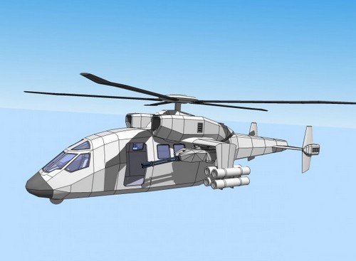 Концепт вертолета Ми-40