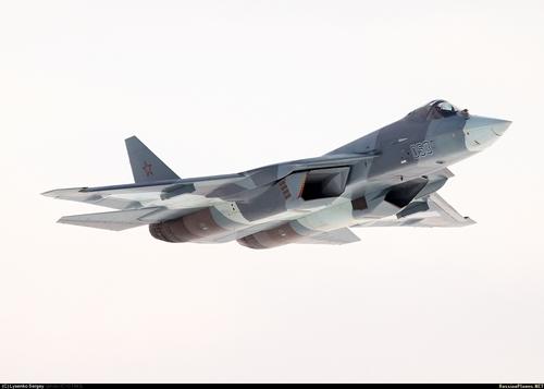 Самолет Т-50-3. Жуковский, март 2013 года (с) Сергей Лысенко / russianplanes.net