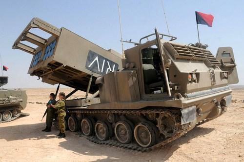 РСЗО MLRS ВС Израиля (c) defence.pk