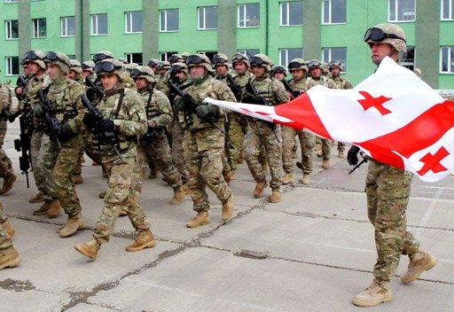 Военнослужащие ВС Грузии (c) militaryphotos.net