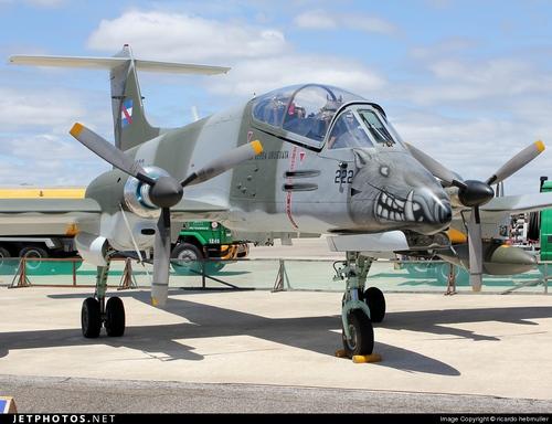 IA-58A Pucará ВВС Уругвая (c) ricardo hebmuller