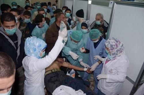 Больницы на территориb Алеппо